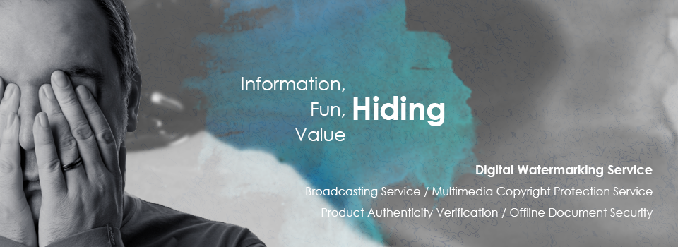 Digital Watermarking Service: Broadcasting Copyright Service,Multimedia Copyright Protection Service,Product Authenticity Verification,On/Offline Document Security