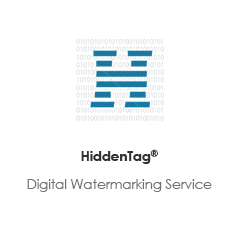 Hiddentag:digital watermarking service