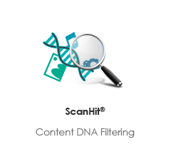 Scanhit:content DNA filtering